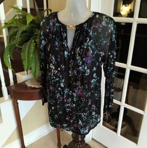 Jennifer Lopez Blouse Like New 2X